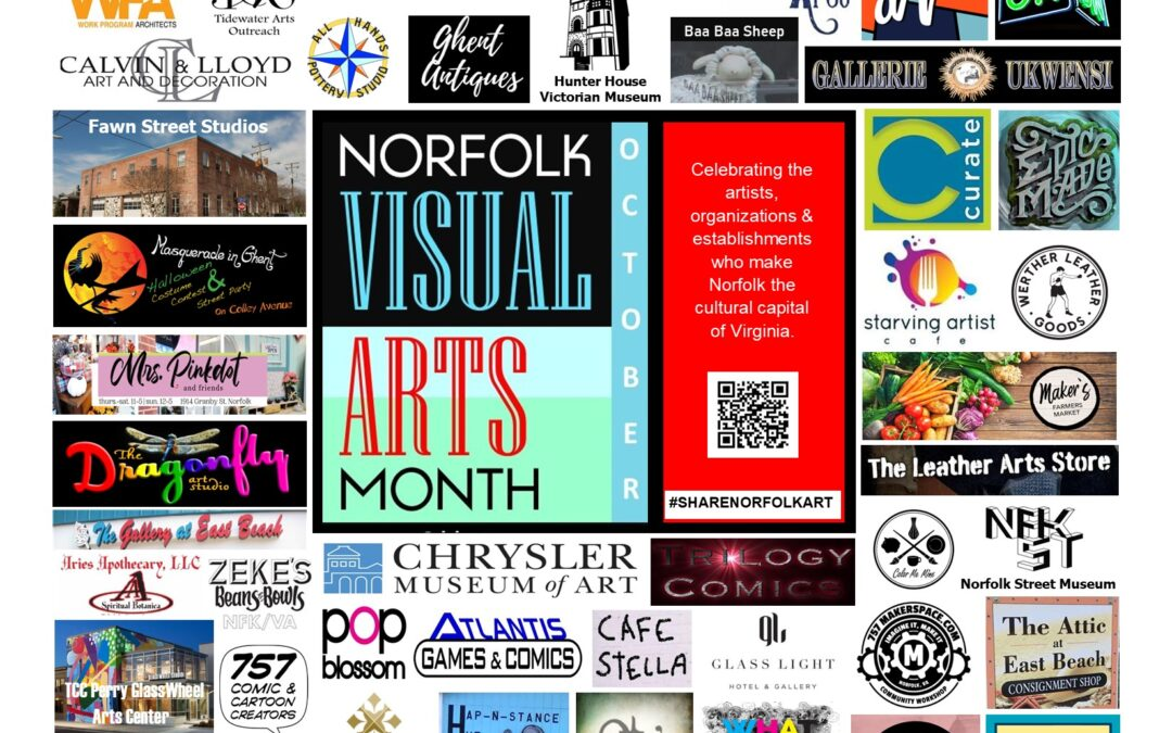 October is Norfolk Visual Arts Month