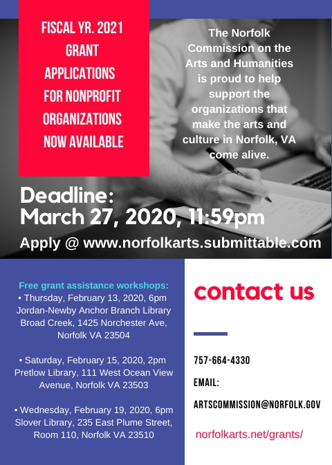 Nonprofit Grants available ~ apply by March 27th