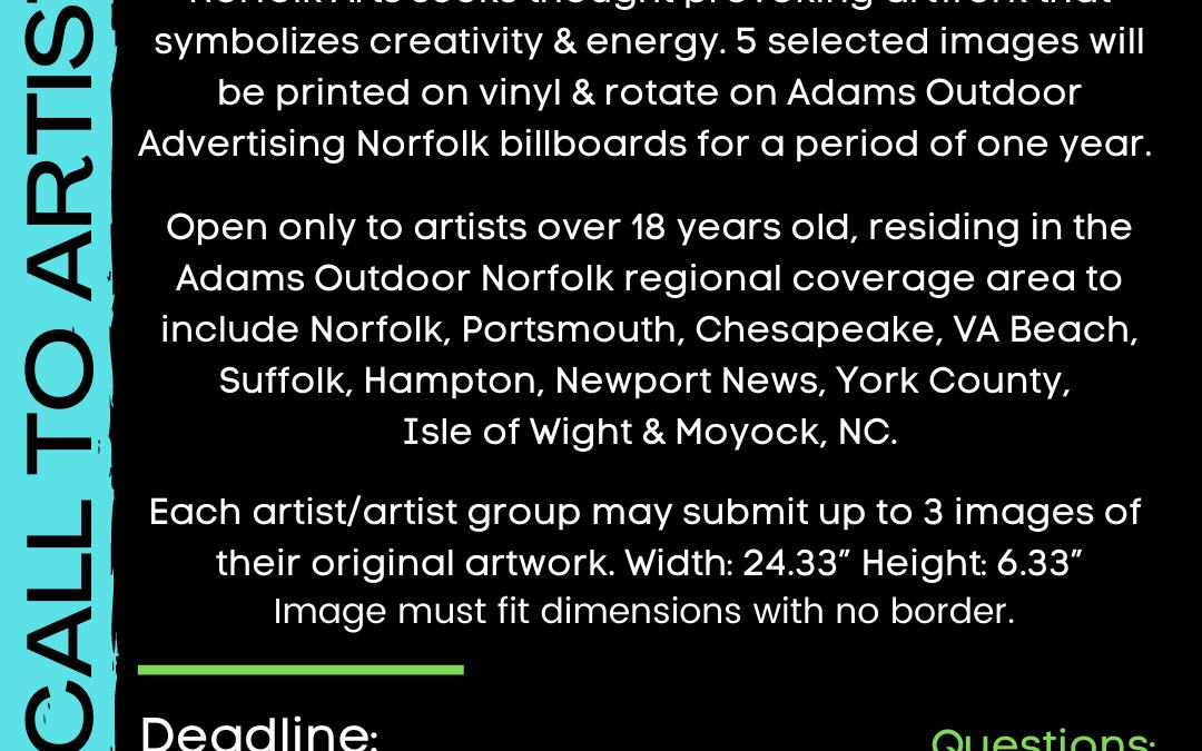 Call for Billboard art