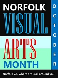 October is Visual Arts Month in Norfolk!