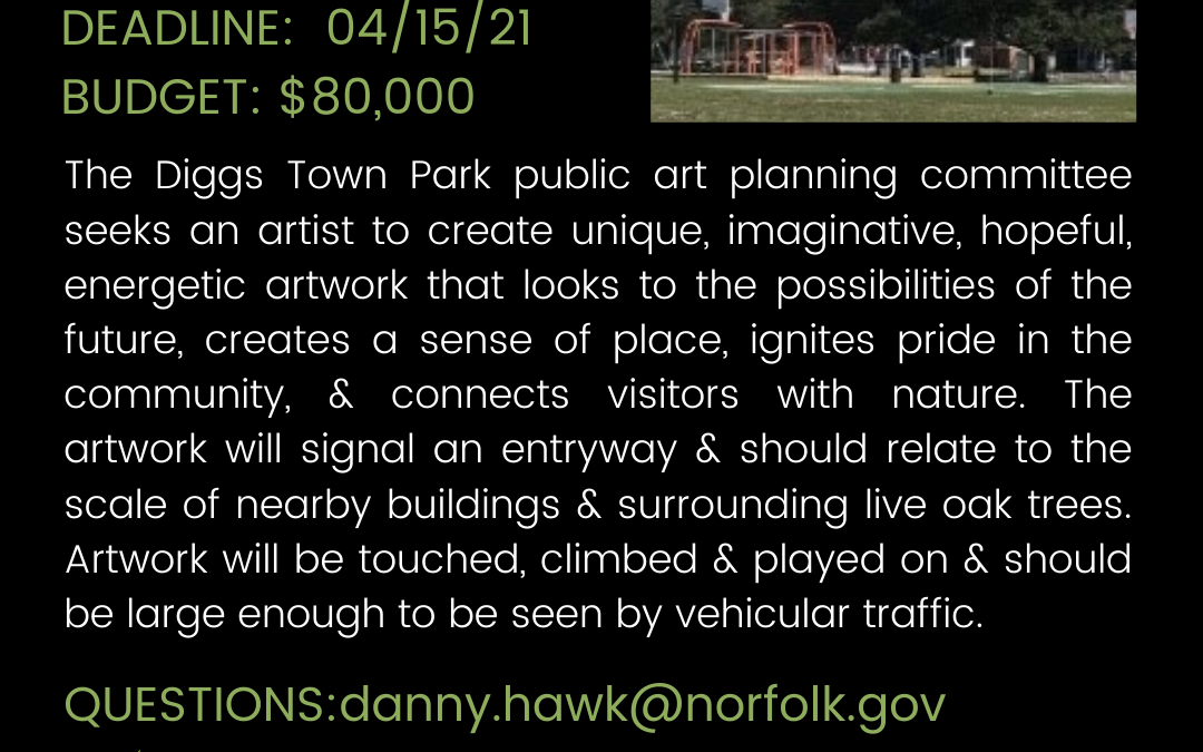 Create Public Art in Norfolk, VA