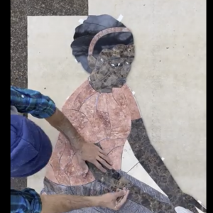 Time Lapse video of OV Elementary mosaic in progress