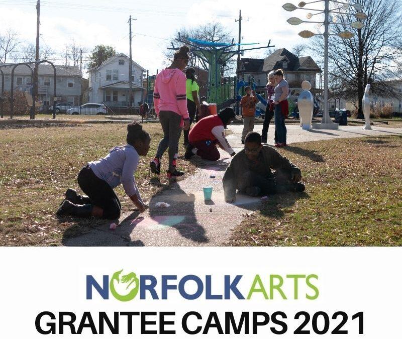 Norfolk Arts Grantee Summer Camps 2021