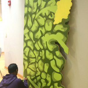 Lafayette murals