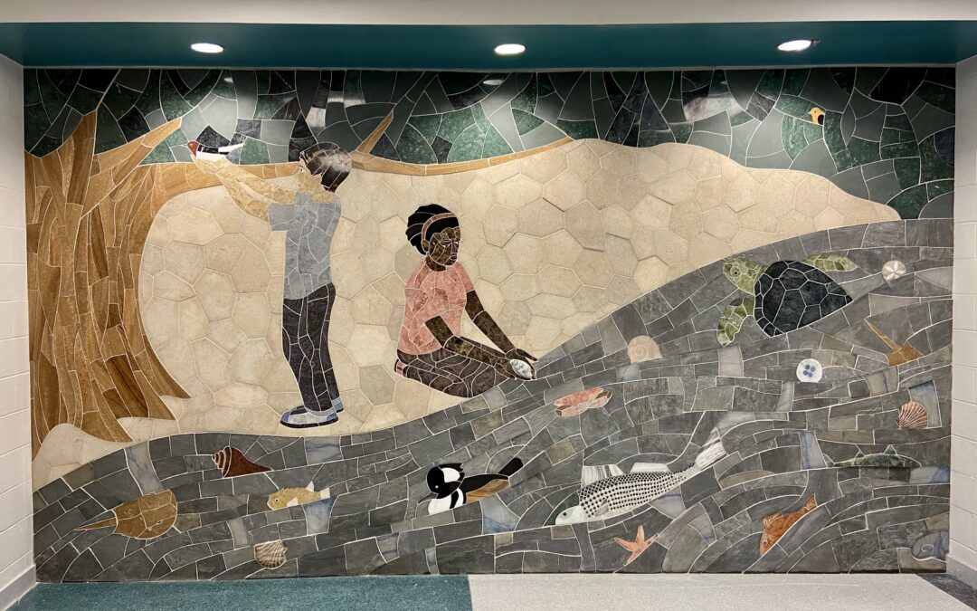 New public art installed at Ocean View Elementary