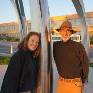 Artist team Jennifer Madden and Jeffrey Reed will create public art for the New Sentara Brock Cancer Center