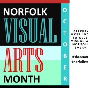 #SHARENORFOLKART during Norfolk Visual Arts Month 2020 by Downloading a background for virtual meetings