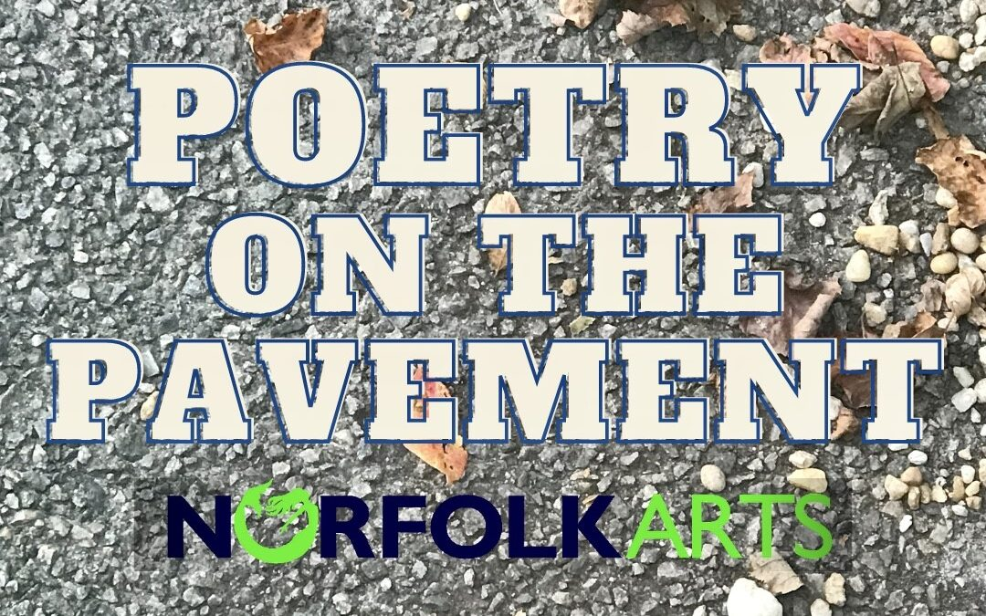 Poetry on the Pavement Project throughout October