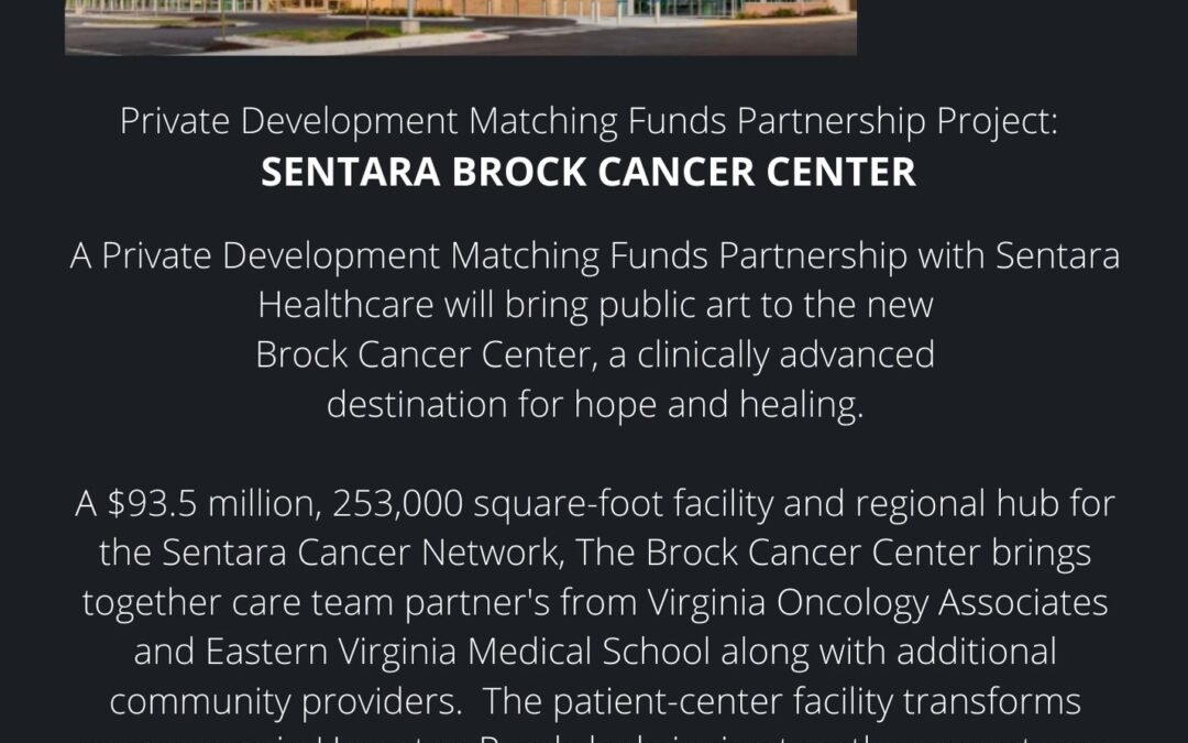 Public art coming to the Sentara Brock Cancer Center on Va. Beach Blvd.