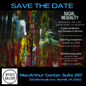 SAVE THE DATE: August 27, 5-7pm