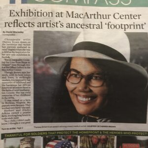 Theresa A. Brown featured in the Virginian Pilot