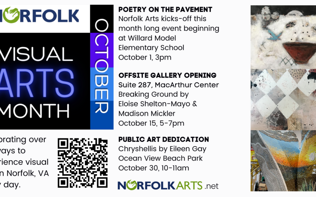 Visual Arts Month is coming