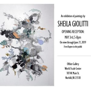 Sheila Giolitti through June 21st