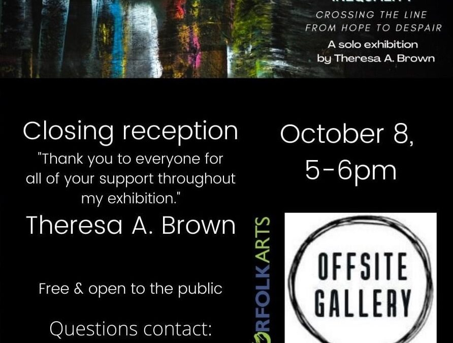 Closing Reception Racial Inequality 5-6pm